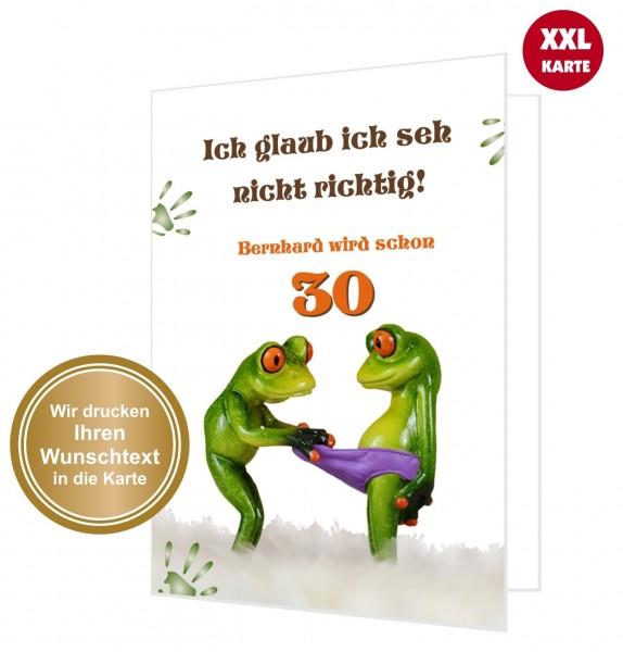 Große Geburtstagskarte Glückwunsch Xxl