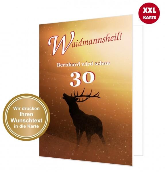 Xxl Geburtstagskarte Jäger Jagd