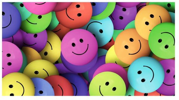 Xxl Postkarte Viele Lustige Smileys