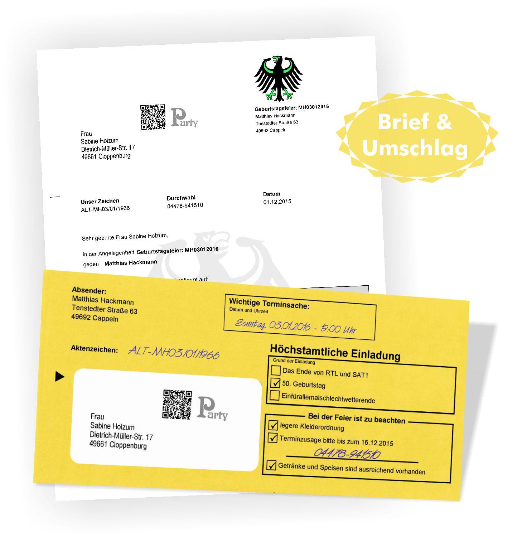 Gelber Brief Vom Jobcenter