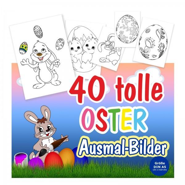 Bilder Ausmalen Ostern Kinder Osterhasen