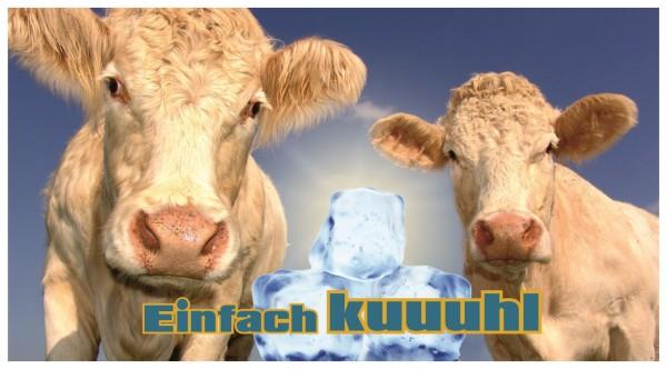 Kühe Kuhl Eiswürfel