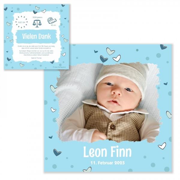 Dankeskarten Babykarten Geburt Bedanken Geschenke