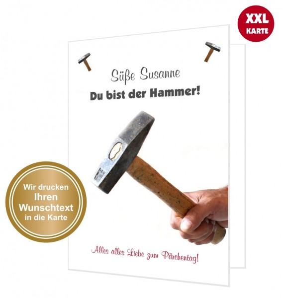 Xxxl Glückwunschkarte Valentinskarte Hammer