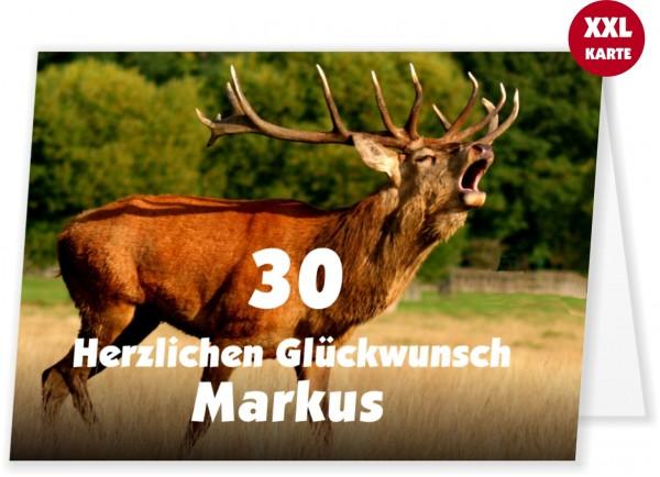 Geburtstagskarte Fuer Jaeger Jagd Frau Mann
