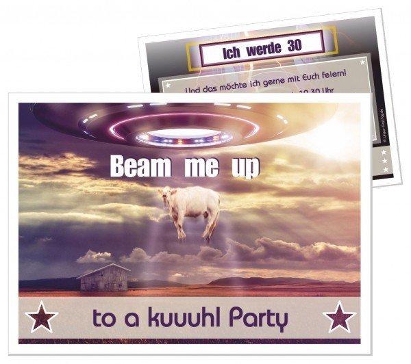 Beam me up Kuh Ufo