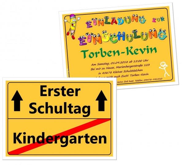 Einladungen Zur Einschulung Kinder