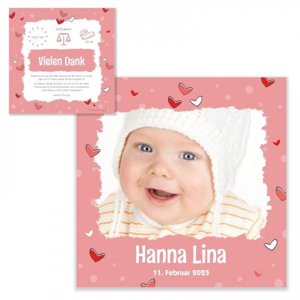 Karten Zur Geburt Geschenke Danke Schatz