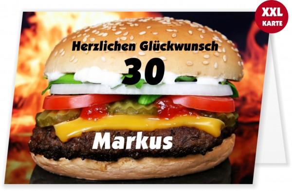 Ausgefallene Geburtstagskarte Xxl Maxi Essen