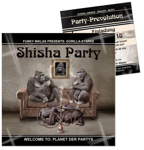 Lustige Einladung Shisha Party