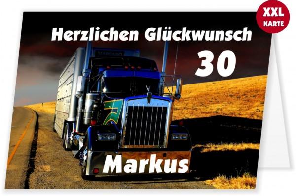 Glückwunschkarte Für Lkw Fahrer Lkw On Tour