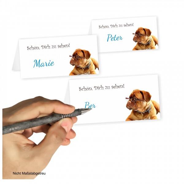 Tischkarte Mit Motiv Geburtstag Hund