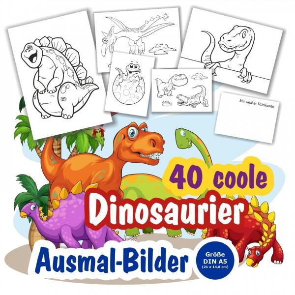 Ausmalbilder Fuer Kinder Dinosaurier Jungs Cool