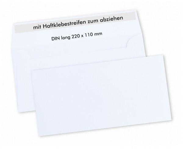 Briefumschlag Din Lang Weiss