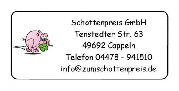Glücksschwein Kleeblatt